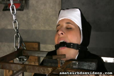 22 Year Old Marina Recently Converted To Catholicism, In Fact, She Showed Up As A Nun. Amateur BDSM Videos XXX Porn Tube Video Image
