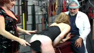 A Red Headed Spanking