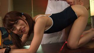 Ageha Kinoshita Gets Fucked By Two Kinky Men