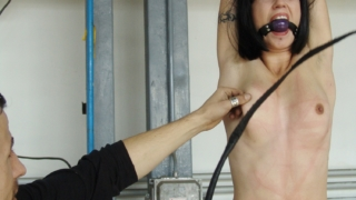 Alexa Endures Flogging & Nipple Torment for Smoking
