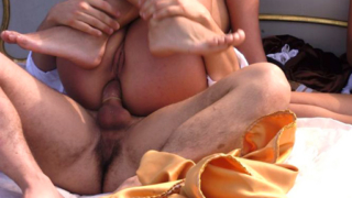 Amateurs Outdoor Orgy