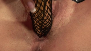 Amazingly office babe dildoing her succulent beaver hard