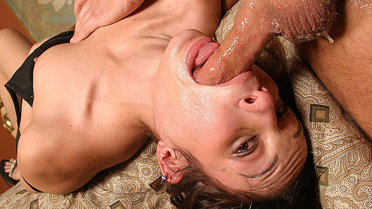 Amber Rayne gives best deep throat blowjob Blowjobs XXX Porn Tube Video Image