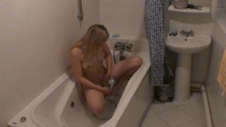 Angelic Blonde Amateur Voyeur Cutie Marina Washing Pussy In Bath Tub In The Spy Camera