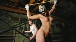 Angie is Punished Again with Rope Bondage and High Impact Pain Play