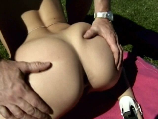 Appealing blonde amateur chick Sharon Wild getting tight pussy nailed outdoors Free Amateur Passport XXX Porn Tube Video Image