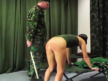 Army Caning