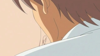 Attractive anime honey getting tight asshole licked and toyed by a doctor