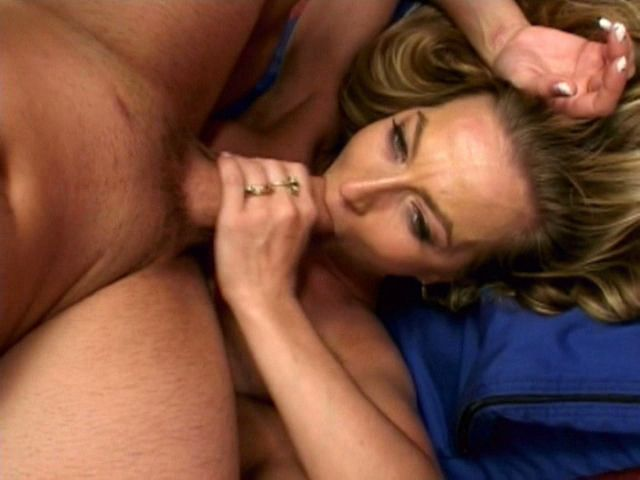 Attractive blonde milf Darian sucking an immense schlong and getting slit fucked Free Milf Passport XXX Porn Tube Video Image