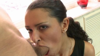 Attractive European Honey Sucking A Massive Shaft And Getting Banged