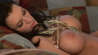 Awesome chesty brunette milf hottie Brandi Edwards gets tight snatch licked by a pierced hunk