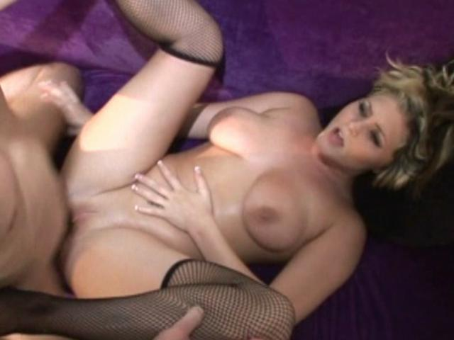Bailey shows her huge boobs and gets fucked in her pussy
