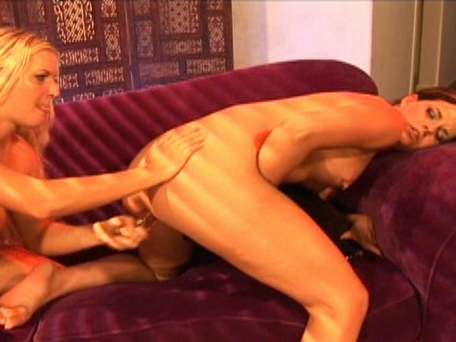 Barbara Summer and Crissy Cums fuck their pussy with some huge sex toys