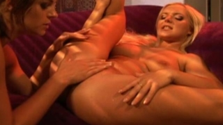 Barbara Summer and Crissy Cums strip off and get dirty