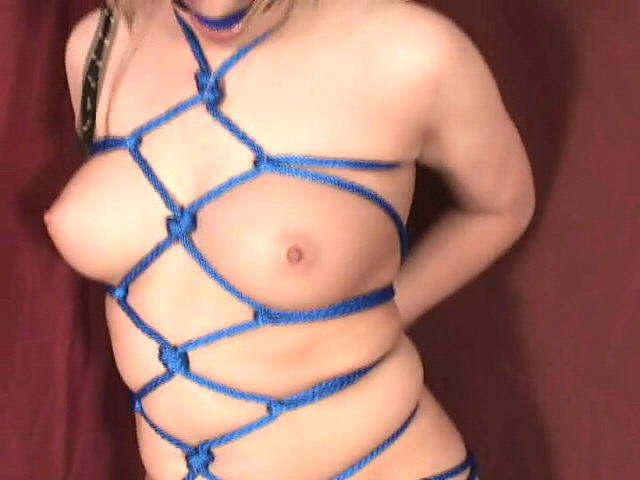 Beautiful Blonde Slave Jessika Getting Tied Up And Gagged Dungeon Masters XXX Porn Tube Video Image