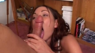 Beautiful Brunette Hooker Venus Wanks And Sucks A Massive Penis On Her Knees
