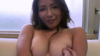 Beautiful Japanese babe Fugetsu Kacho shows big jugs and fucks a large shaft