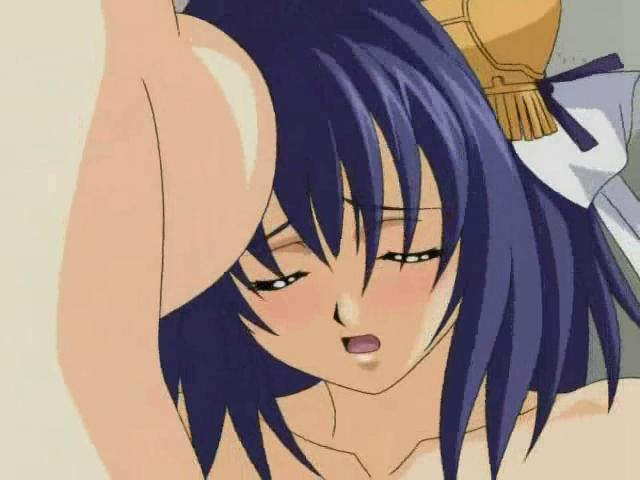 Big meloned hentai shemale fucking a babe`s pink twat