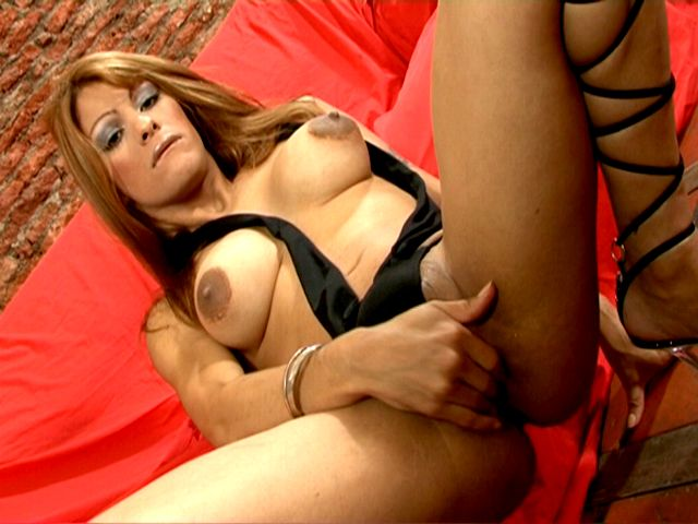 Big Titted Tranny Morena Fingering Her Tight Butthole Hard Tranny Girls Exposed XXX Porn Tube Video Image