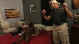 Black babe in BDSM