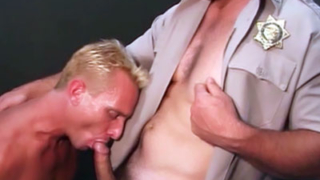 Blonde Gay Bear Goes Bottom