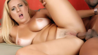 Blonde Latina Does Anal