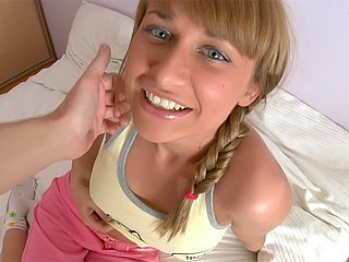 Blue-eyed teen fucked well Watch Me Fucked XXX Porn Tube Video Image