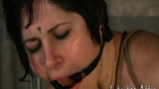 Bondage Virgin Luna is a Luscious Natural Beauty
