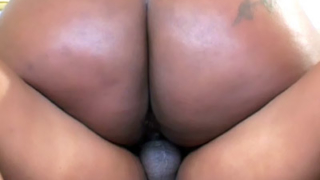 Bootylicious Black BBW Grinds On A Cock