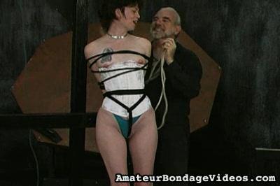 Bound and Ready Amateur Bondage Videos XXX Porn Tube Video Image