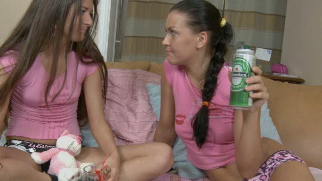 brunette-teen-lesbians-hanna-and-vera-drinking-beer-and-showing-assets_01