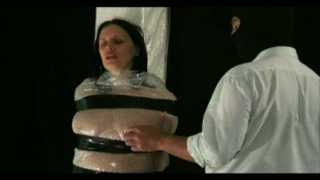 Bubble Wrap Tit Torture