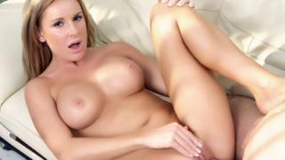 Busty Blonde MILF Laura Monroe
