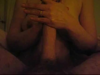 Busty Wife Makes Cock Explode