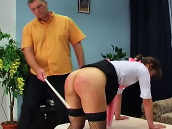 Caning The Maid Elite Spanking XXX Porn Tube Video Image