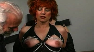 Caning Threesome