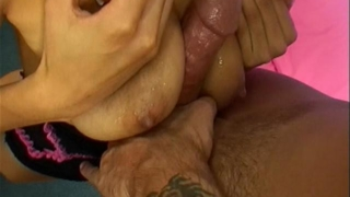 Charming Latina Whore Daisy Gets Divine Breasts Fucked