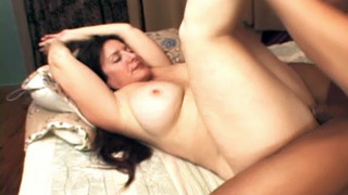 Curvy Mature Spread Legged For A Cock