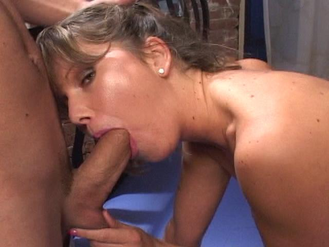Cutie whore Kelly gets mouth pounded by a gigantic cock