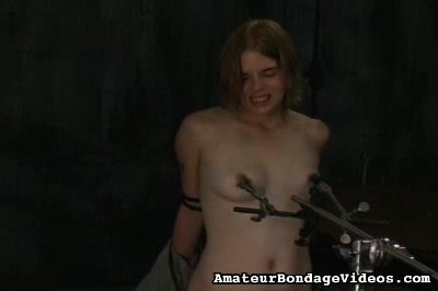 Danielle breast torment Amateur Bondage Videos XXX Porn Tube Video Image