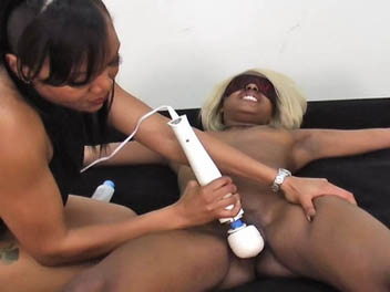 Ebony Bound and Tickled Ebony Femdom Videos XXX Porn Tube Video Image