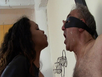 Ebony Spitting Fetish Ebony Femdom Videos XXX Porn Tube Video Image