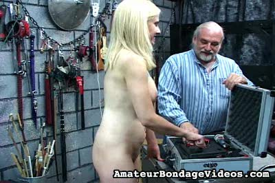 Electric Punishment Amateur Bondage Videos XXX Porn Tube Video Image