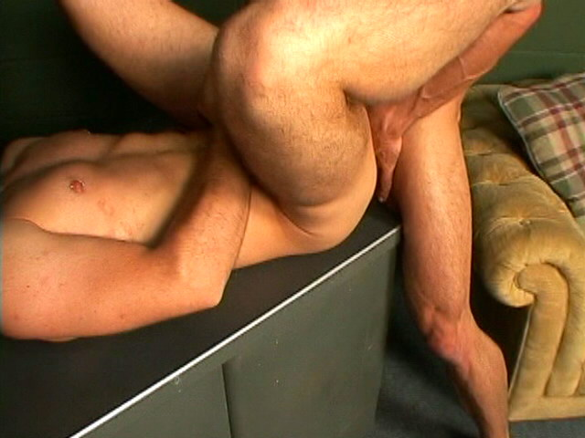 Excited young faggot Corbin sucking an immense shaft in a threesome