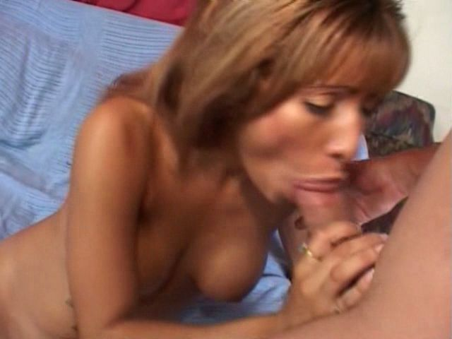 Exotic milf with Estrella Spangled gets sexy tits pounded by a big shaft