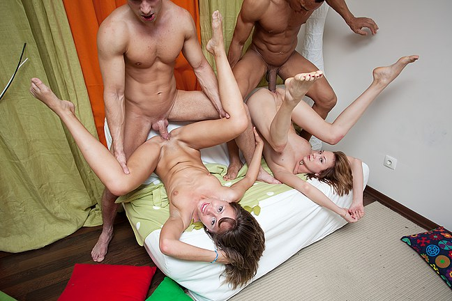 Extremely hot group orgy with drunk students College Fuck Parties XXX Porn Tube Video Image