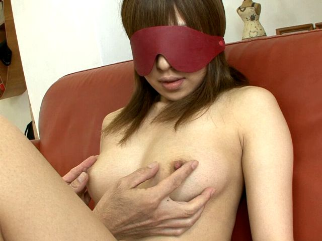 Eye folded Japan cutie Yuu Mizuki stripping and having sexy boobs massaged