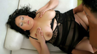 Fatty Claudia Takes Our Cock