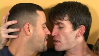 Firm Bodied Gay Rob Kissing Two Handsome Twinks With Lust