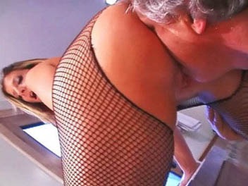 Fishnets, Corsets and Facesitting Face Sitting Freaks XXX Porn Tube Video Image